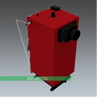 Твердотопливный котел длительного горения Altep Duo / KT-2E-M