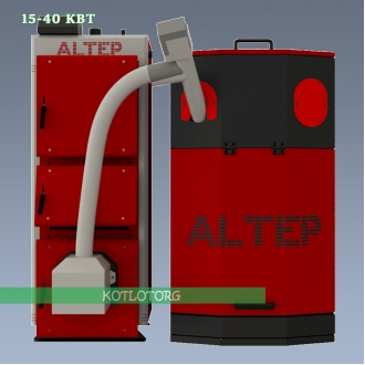 Пеллетный котел Altep DUO UNI Pellet / КТ-2Е-PG