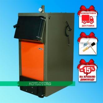 Bizon F Termo (10-25 кВт) - Твердотопливный котел Холмова Бизон