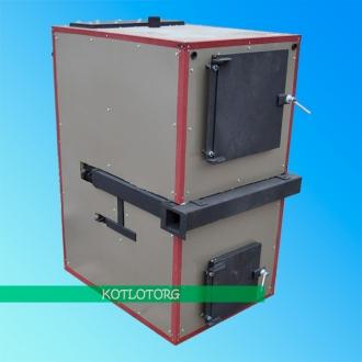 Твердотопливный газогенераторный котел Бизон ФР Термо