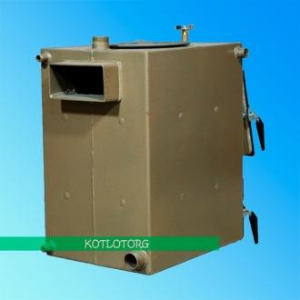 Твердотопливный котел - плита на дровах Бизон Классик МП