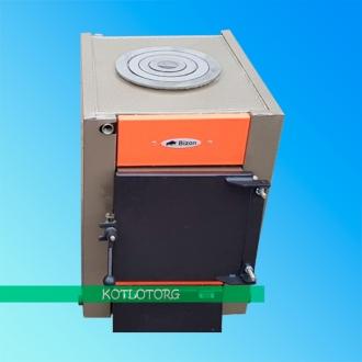 Твердотопливный котел - плита на дровах Бизон Классик Термо МП