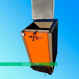 Твердотопливный котел шахтного типа Бизон Эко Термо