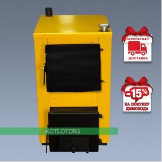 Буран-Мини (14-18 кВт) - Котел на дровах и угле Buran