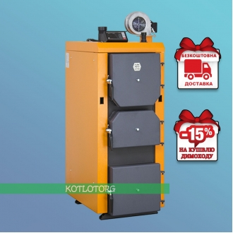 Донтерм Турбо (10-100 кВт) - Твердотопливный котел Donterm (ДТМ)