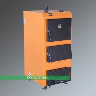 Твердотопливный котел на дровах и угле Донтерм (DTM Universal)