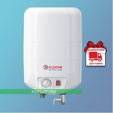 Электрический водонагреватель Eldom Extra Life 72325 NMP (10л)