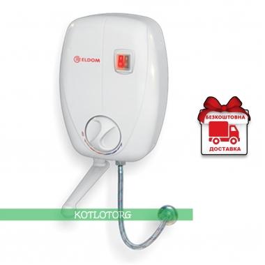 Проточный электрический водонагреватель Eldom Beta 72486 (6,5кВт)