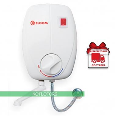 Проточный электрический водонагреватель Eldom Beta 72485 (3,5кВт)