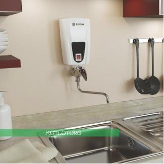 Проточный электрический водонагреватель Eldom E51 (5кВт)