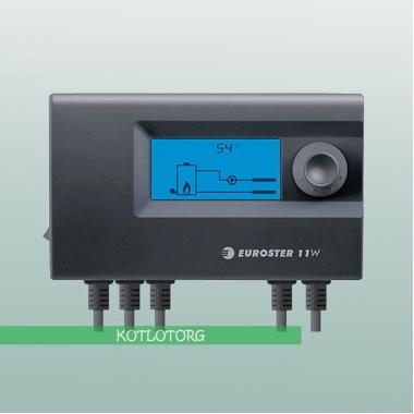 Электронный блок управления вентилятором и насосом Euroster 11W