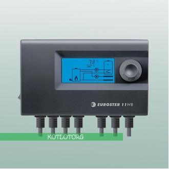 Euroster 11WB - Автоматика для твердотопливного котла