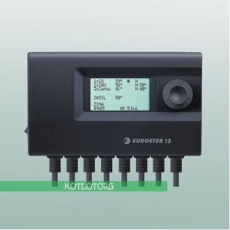 Euroster 12 - Автоматика для твердотопливного котла