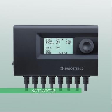 Электронный блок управления вентилятором и насосами Euroster 12