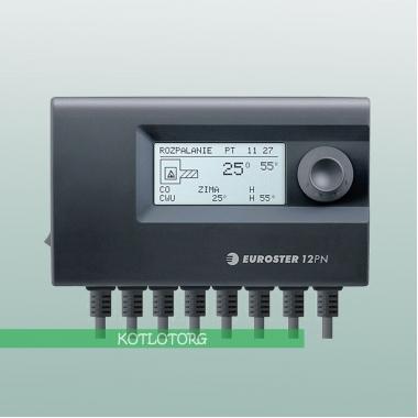Электронный блок управления вентилятором и насосами Euroster 12PN