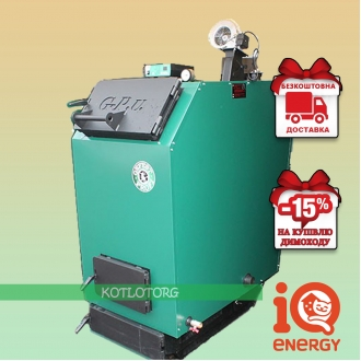 Gefest Profi U (15-200 кВт) - Твердотопливный котел Гефест