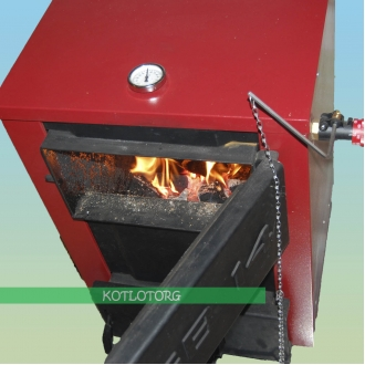 Котел на дровах и угле Greenburner GB