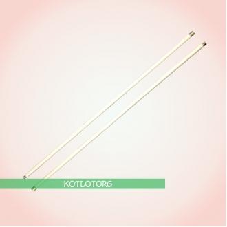Ручки гибкие Hansa белого цвета для чистки дымохода 1 м