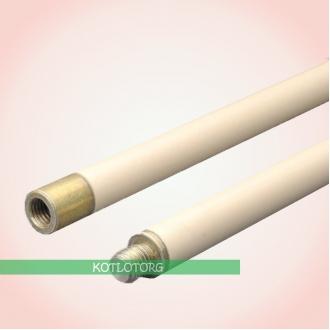 Hansa - Гибкие белые ручки для чистки дымохода (1 м)