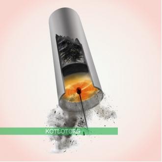Роторный набор для чистки дымоходов Tornado Hansa