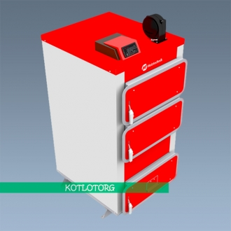 Твердотопливный котел длительного горения Heiztechnik Q Plus DR