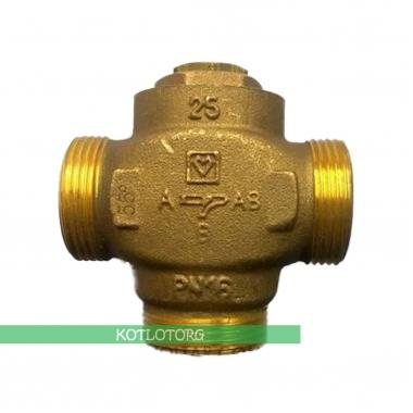 Трехходовой клапан Herz-Teplomix с отключаемым байпасом
