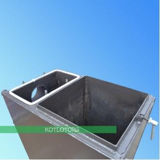 Твердотопливный котел шахтного типа Бизон Стандарт