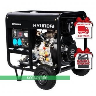 Hyundai DHY 6000LE - Дизельный генератор Хюндай