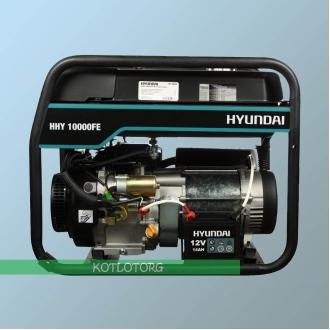 Генератор бензиновый Hyundai HHY 10000 FE