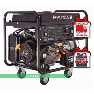 Hyundai HHY 7000 FGE - Гибридный генератор Хюндай