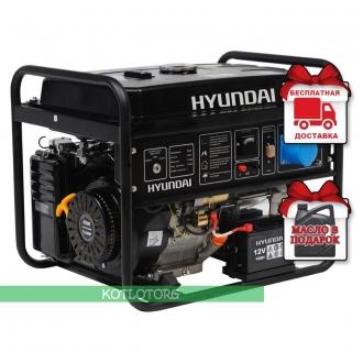 Hyundai HHY 7010FE ATS - Бензиновый генератор Хюндай