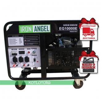 Iron Angel EG 10000 E - Бензиновый генератор Айрон Энджел