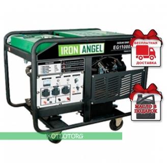 Iron Angel EG 11000 E - Бензиновый генератор Айрон Энджел
