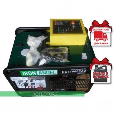 Генератор бензиновый Iron Angel EG 11000 EA3