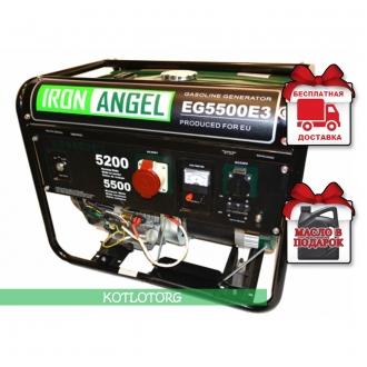 Iron Angel EG 5500 E3 - Бензиновый генератор Айрон Энджел