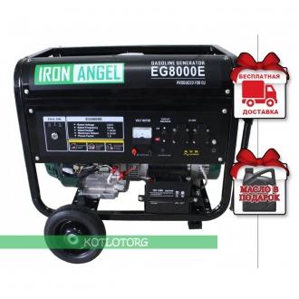 Iron Angel EG 8000 E - Бензиновый генератор Айрон Энджел