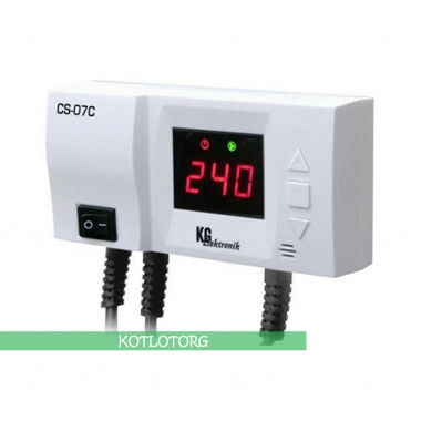 Электронный блок управления насосом отопления KG Elektronik CS-07C