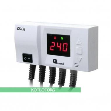 Электронный блок управления насосами ЦО и ГВС KG Elektronik CS-08