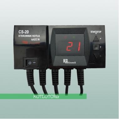 Электронный блок управления вентилятором и насосом KG Elektronik CS-20