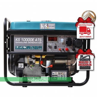 Konner & Sohnen KS 10000E ATS - Бензиновый генератор Конер энд Зонен