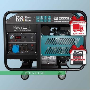 Генератор бензиновый Konner & Sohnen KS 12000E ATS