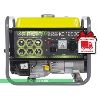 Konner & Sohnen Basic KS 1200C - Бензиновый генератор Конер энд Зонен