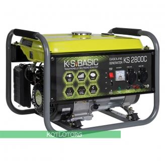Бензиновый генератор Konner & Sohnen Basic KS 2800C