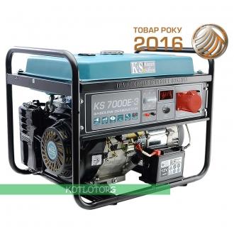 Бензиновый генератор Konner & Sohnen KS 7000E-3