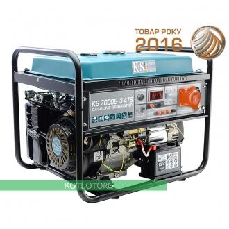 Бензиновый генератор Konner & Sohnen KS 7000E ATS-3