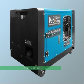 Генератор бензиновый Konner & Sohnen KS 7500E-SS