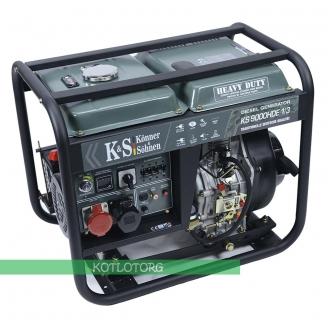 Дизельный генератор Konner & Sohnen KS 9000HDE-1/3