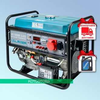 Konner & Sohnen KS 10000E-3 ATS - Бензиновый генератор Конер энд Зонен