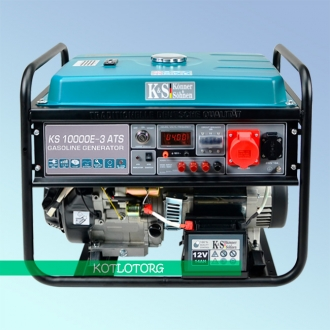 Генератор бензиновый Konner & Sohnen KS 10000E-3 ATS