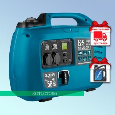 Генератор бензиновый инверторный Konner & Sohnen KS 3300i S